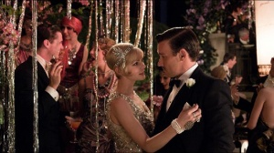 Daisy and Tom at Gatsby's party